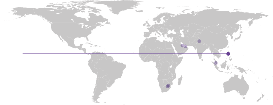 Map displaying location of Multiple Intelligence International School, Phillipines